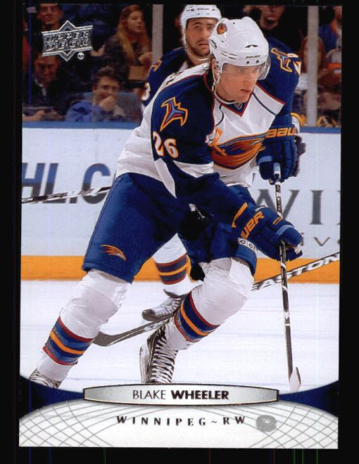 2011 Upper Deck #5  Blake Wheeler