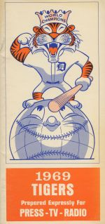 1969  Tigers Media Guide