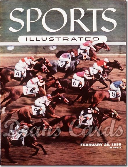 1955 Sports Illustrated   February 28  -  Race Horses