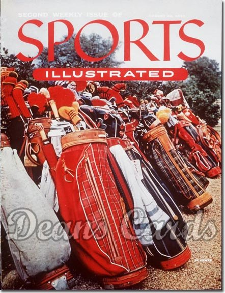 1954 Sports Illustrated   August 23  -  2nd Issue