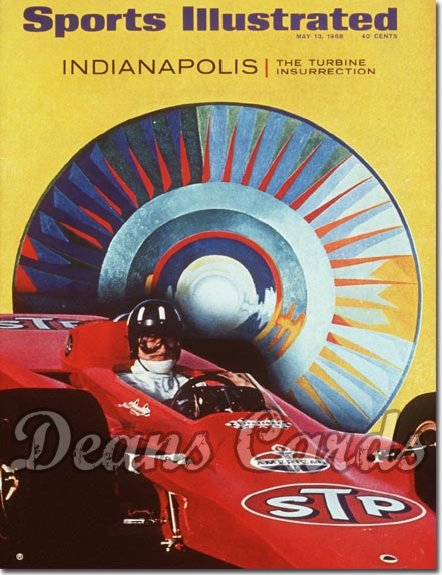 1968 Sports Illustrated   May 13  -  Indianapolis 500