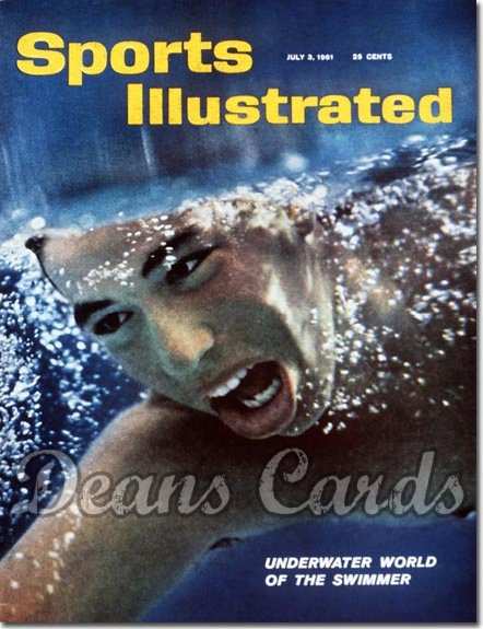 1961 Sports Illustrated - With Label   July 3  -  Swimming
