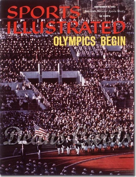 1960 Sports Illustrated - With Label   September 5  -  Olympic Issue