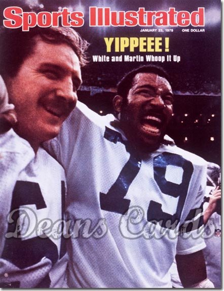1978 Sports Illustrated - With Label   January 23  -  Randy White & Harvey Martin (Dallas Cowboys)