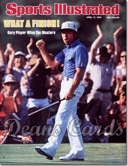 1978 Sports Illustrated - With Label   April 17  -  Gary Player