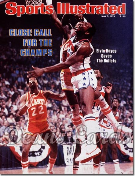 1979 Sports Illustrated - With Label   May 7  -  Elvin Hayes (Washington Bullets)