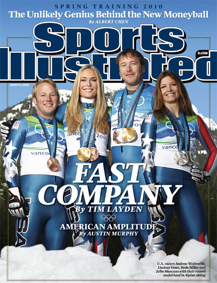 2010 Sports Illustrated   March 1  -  Fast Company