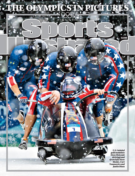 2010 Sports Illustrated   March 10  -  US Bobsled Team