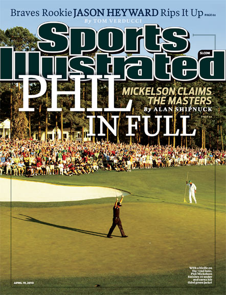 2010 Sports Illustrated - With Label   April 19  -  Phil in Full