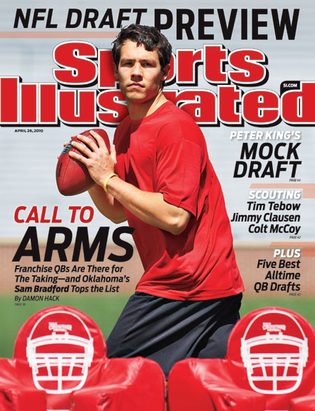 2010 Sports Illustrated - With Label   April 26  -  NFL Draft Preview