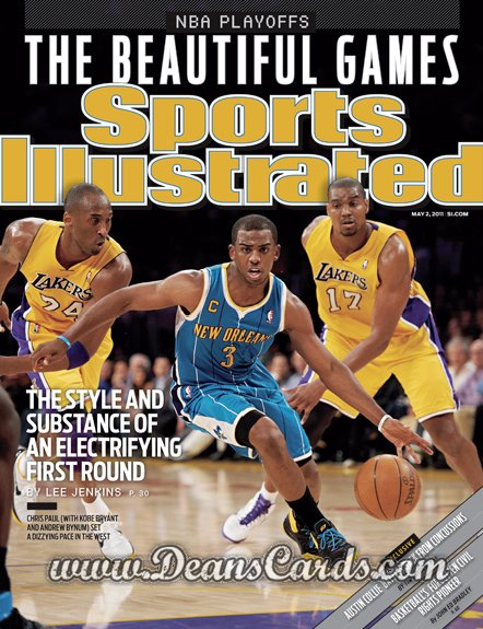 2011 Sports Illustrated - With Label   May 2  -  Chris Paul / Kobe Bryant