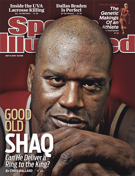 2010 Sports Illustrated   May 17  -  Good Old Shaq