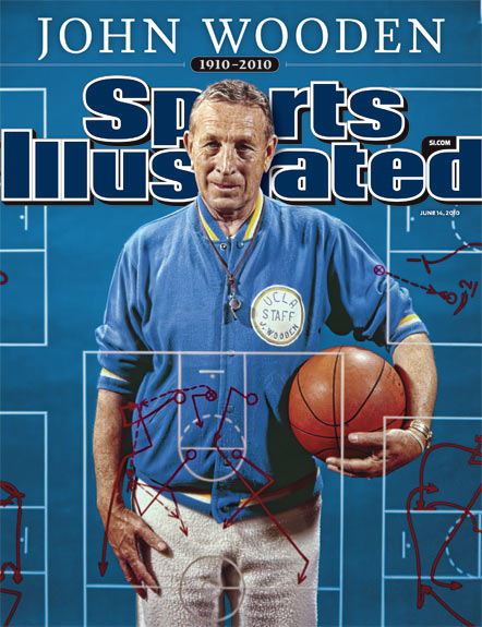 2010 Sports Illustrated - With Label   June 14  -  John Wooden