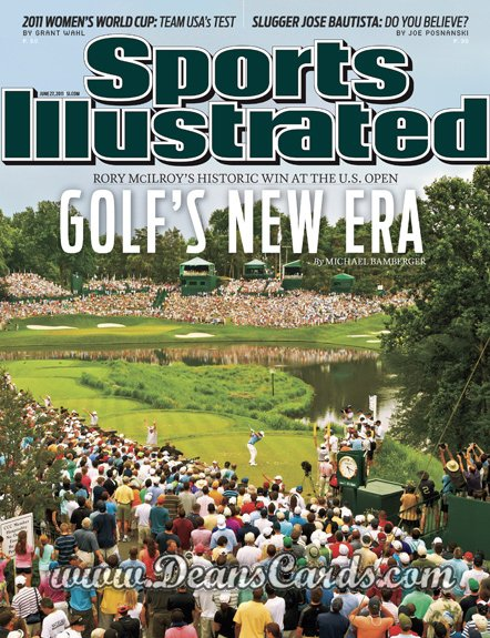 2011 Sports Illustrated   June 27  -  Rory McIlroy / US Open Championship