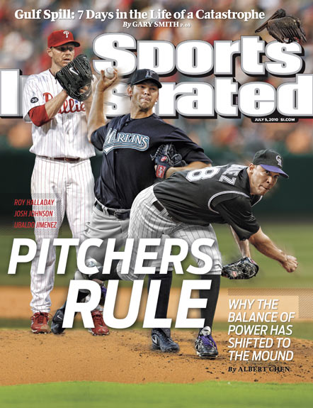 2010 Sports Illustrated   July 5  -  Pitchers Rule