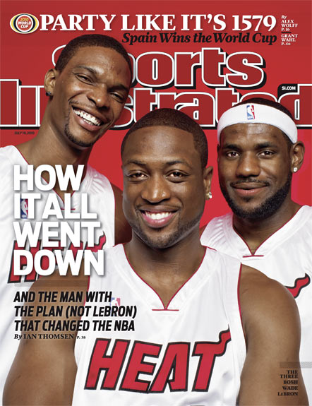 2010 Sports Illustrated   July 19  -  How It All Went Down