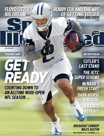 2010 Sports Illustrated   July 26  -  Miles Austin