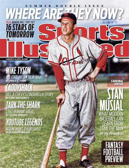 2010 Sports Illustrated - With Label   August 2  -  Stan Musial