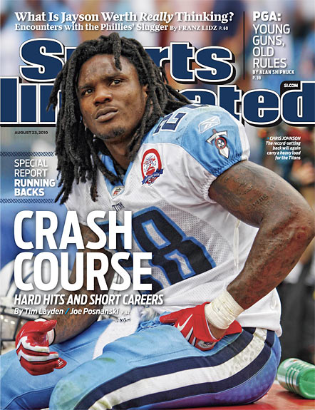 2010 Sports Illustrated   August 23  -  Chris Johnson