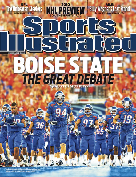 2010 Sports Illustrated - With Label   October 4  -  Boise State