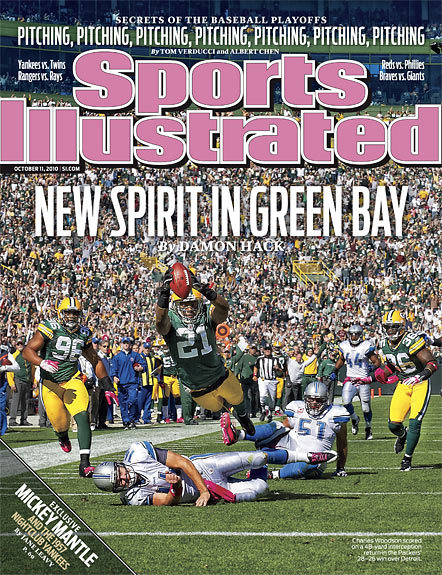 2010 Sports Illustrated   October 11  -  New Spirit in Green Bay
