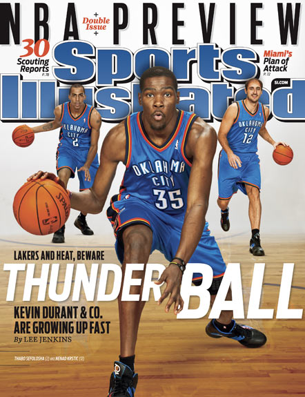 2010 Sports Illustrated   October 25  -  NBA Preview: Thunderball