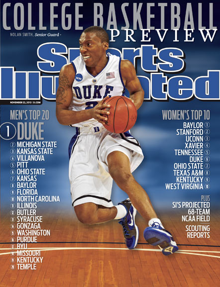 2010 Sports Illustrated   November 22  -  College Basketball Preview