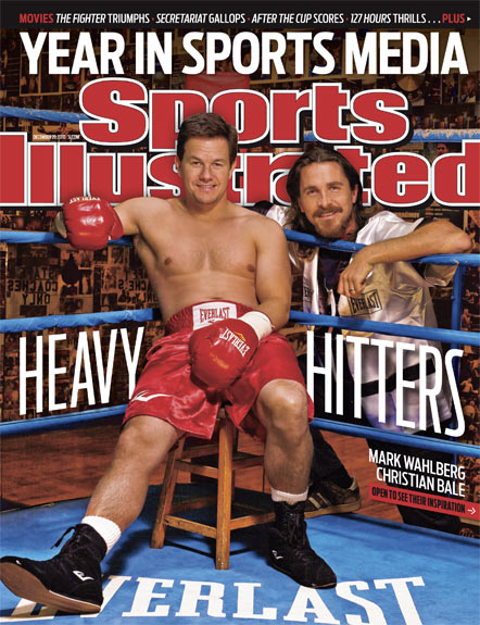 2010 Sports Illustrated - With Label   December 20  -  Mark Wahlberg