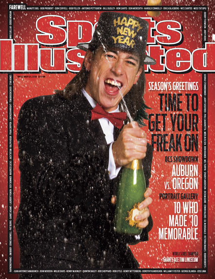2010 Sports Illustrated   December 27  -  Tim Lincecum / New Years Edition / Giants