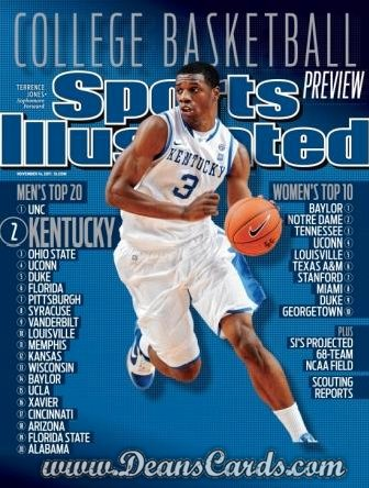 2011 Sports Illustrated   November 14  -  Terrence Jones / Kentucky Basketball /  CBB Preview