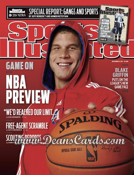 2011 Sports Illustrated   December 5  -  Blake Griffin / Los Angeles Clippers / NBA Preview