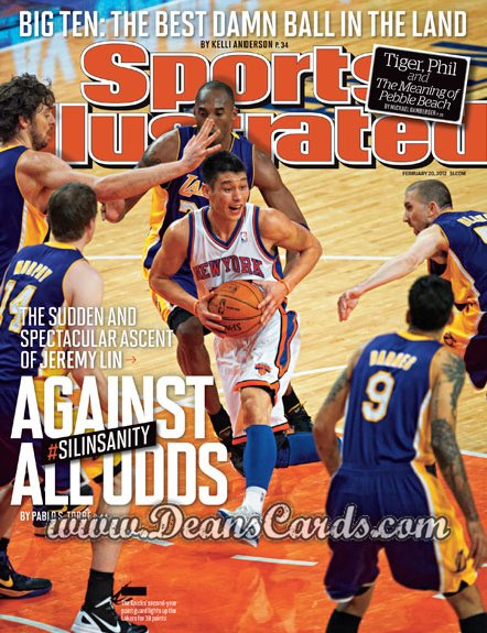 2012 Sports Illustrated   February 20  -  Jeremy Lin / New York / Against All Odds