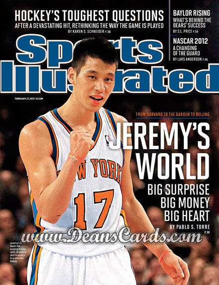 2012 Sports Illustrated   February 27  -  Jeremy Lin / New York Knicks / Jeremy's World