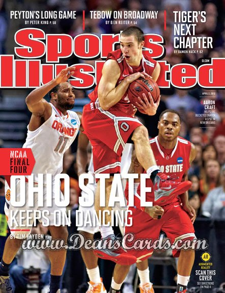 2012 Sports Illustrated   April 2  -  Aaron Craft / Ohio State Buckeyes / Keeps On Dancing