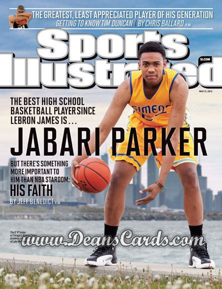 2012 Sports Illustrated - With Label   May 21  -  Jabari Parker / Simeon Career Academy