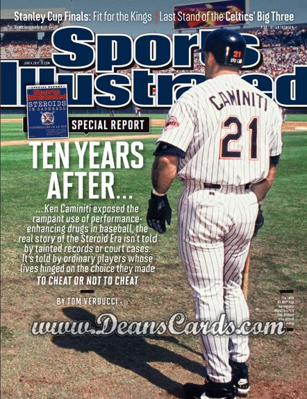 2012 Sports Illustrated   June 4  -  Ken Caminiti / San Diego Padres / Ten Years After