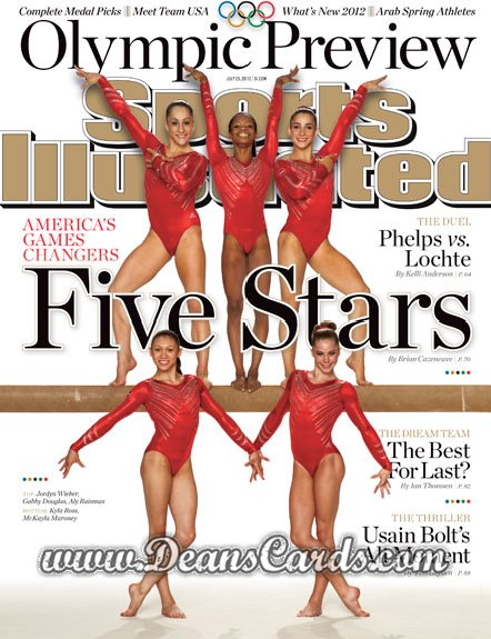 2012 Sports Illustrated   July 23  -  Five Stars /  London Olympic Games Preview