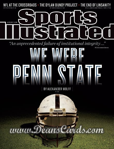 2012 Sports Illustrated   July 30  -  We Were Penn State / Penn State Football