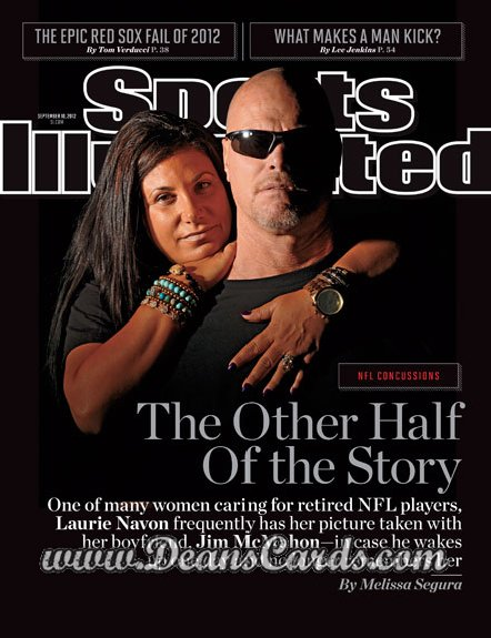 2012 Sports Illustrated   September 10  -  Jim McMahon / The Other Half of The Story