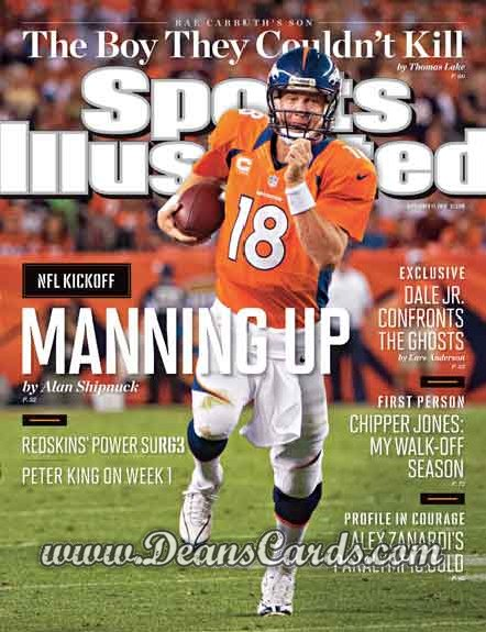 2012 Sports Illustrated   September 17  -  Peyton Manning / Denver Broncos / Manning Up