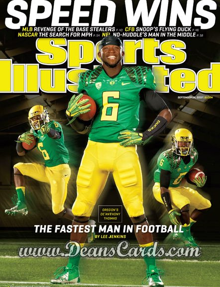 2012 Sports Illustrated   September 24  -  De'Anthony Thomas / The Fastest Man in Football / Oregon Ducks