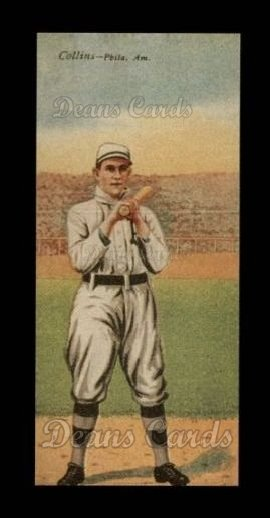 1911 T201 Mecca Reprint #9  Eddie Collins  /  Home Run Baker