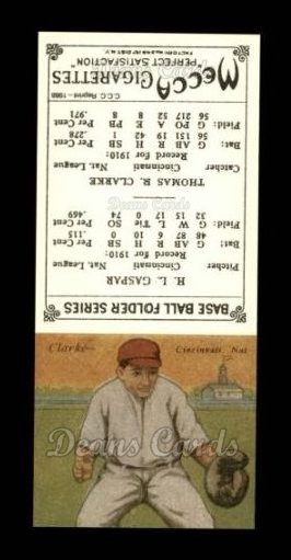 1911 T201 Mecca Reprint #17  Harry Gaspar / Tommy Clarke