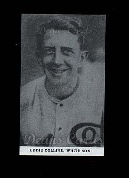 1921 E253 Oxford Confectionary Reprint #5  Eddie Collins