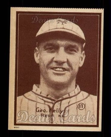 1931 W517 Reprint #11  George Kelly