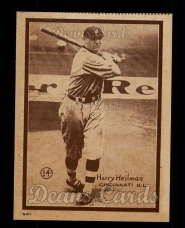 1931 W517 Reprint #14  Harry Heilmann