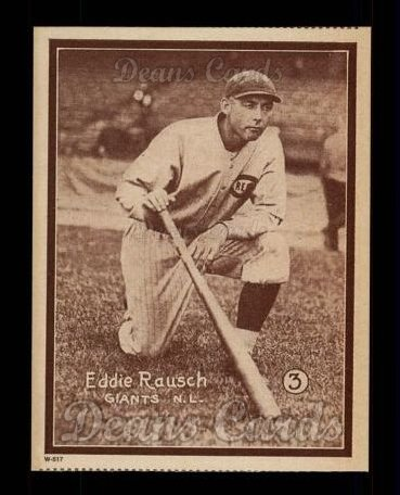 1931 W517 Reprint #3  Eddie Roush