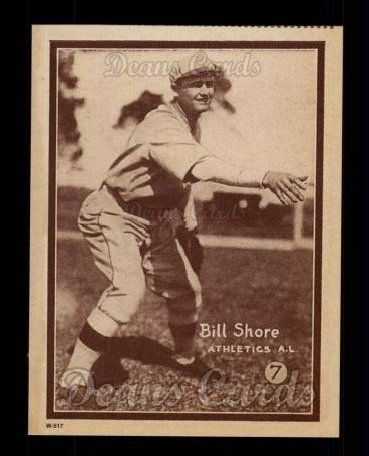 1931 W517 Reprint #7  Bill Shore