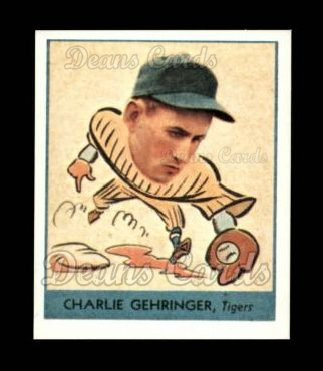 1938 Goudey Heads-Up Reprint #241  Charley Gehringer
