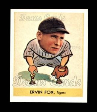 1938 Goudey Heads-Up Reprint #242  Pete Fox